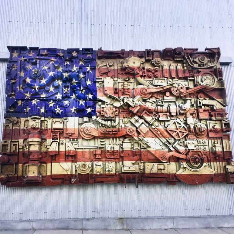 Ironworks Campus street art in Beloit Wisconsin - Weekend Trips From Chicago