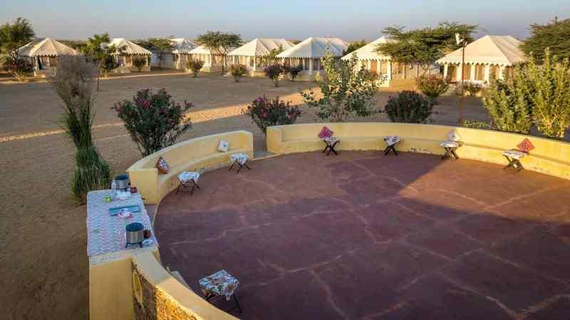 Winds Desert Camp - Luxury Desert Camps In Jaisalmer