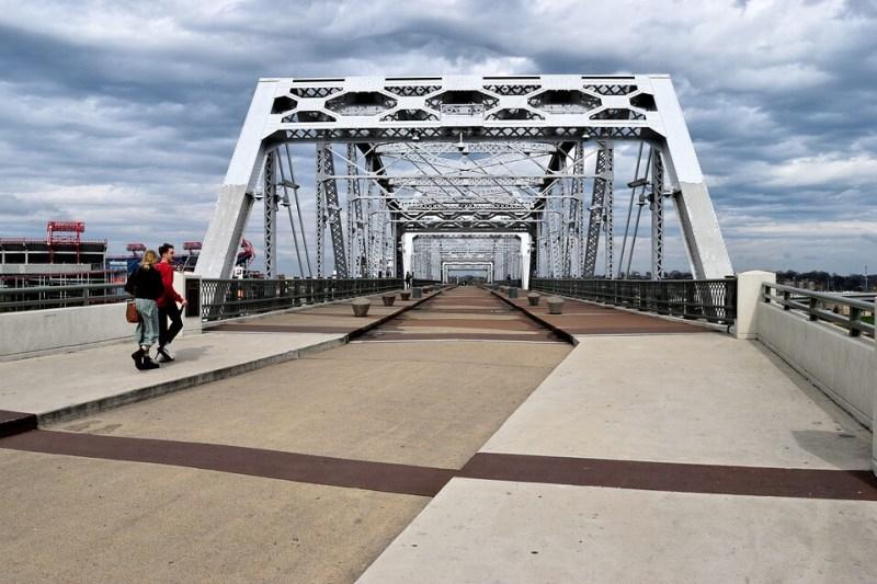 Pedestrian Bridge - Nashville Itinerary