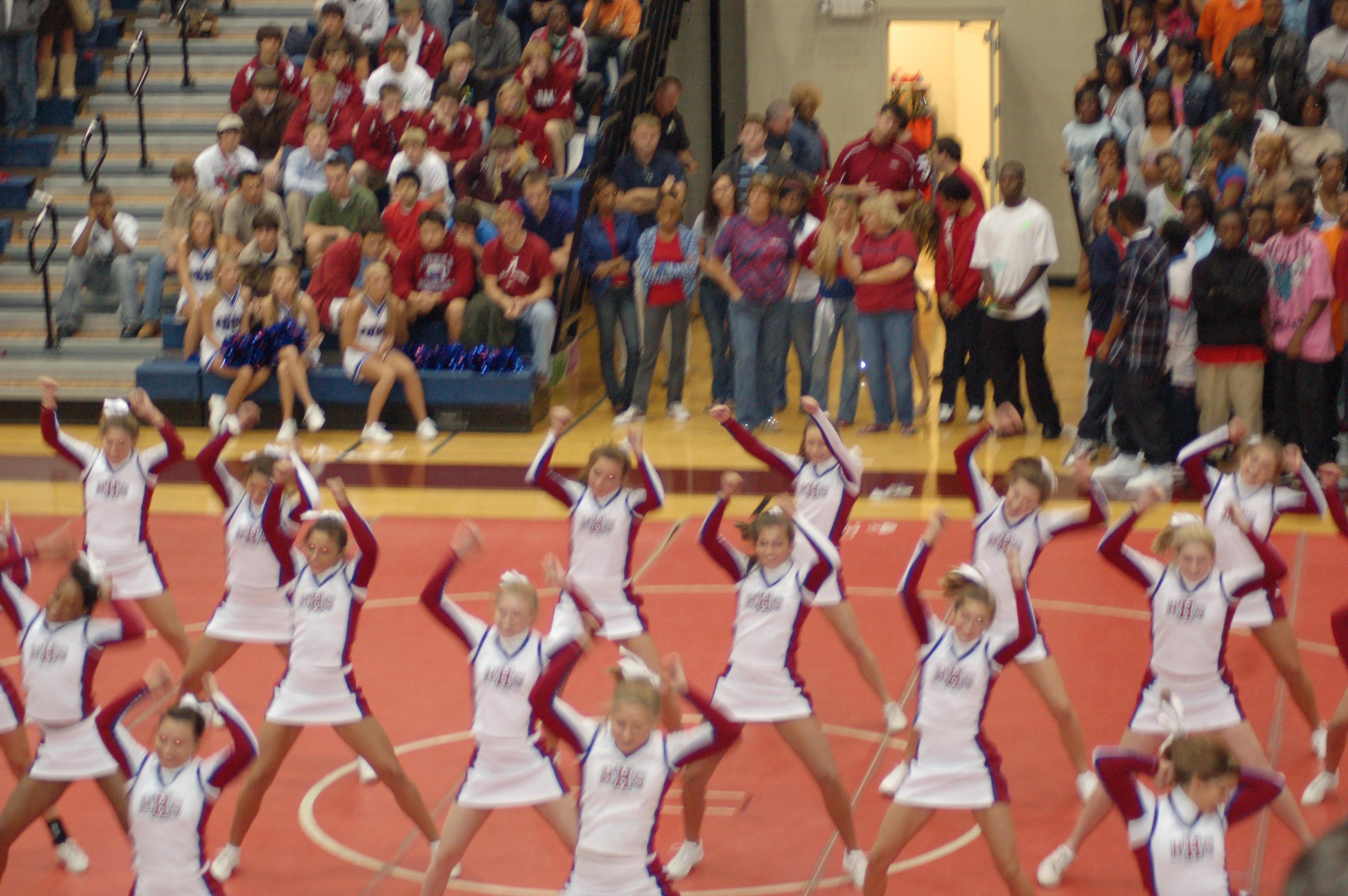 Homecoming Pep RallyGame  Huntsville High School
