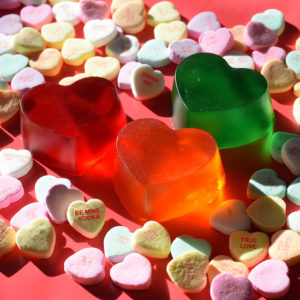 Jello Shot Valentines