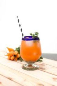 Mezcal Carrot Ginger Spritz