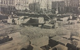 Feb. 1st, 1910: Foundation rises out of ground