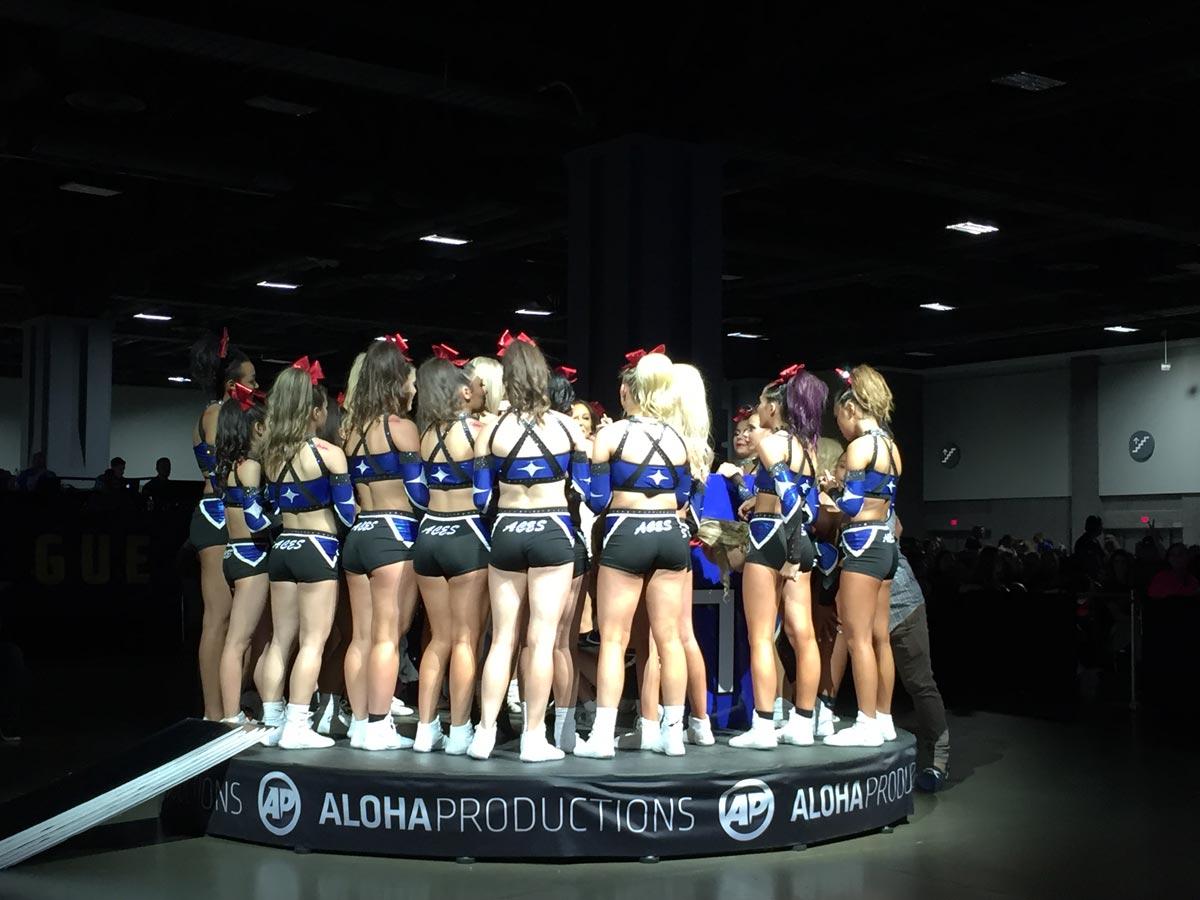Medium Senior All Girl 20152016 Season Recap  Cheer Theory