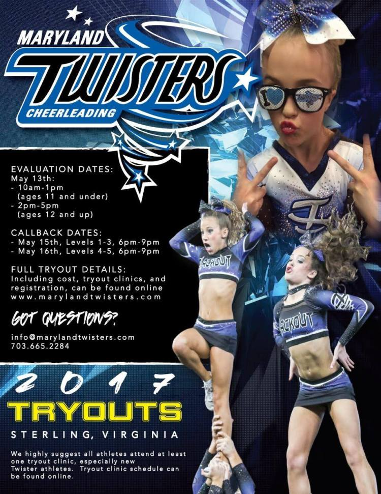 Maryland Twisters 2017