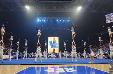 University of Kentucky Cheer Big Blue Madness 2017