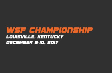 WSF-Championship Louisville KY 2017