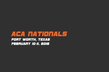 ACA Nationals 2018