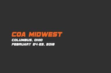 COA-Midwest 2018
