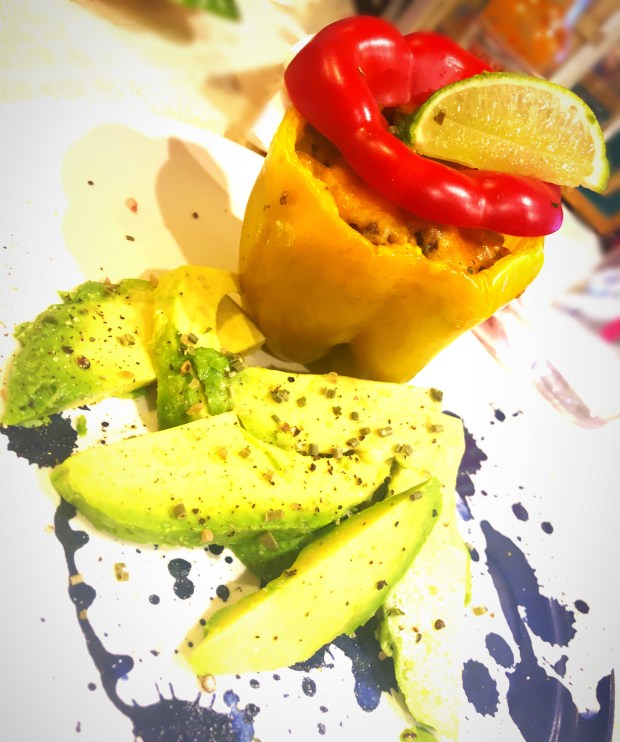cheery and charming_keto_elk stuffed peppers_3