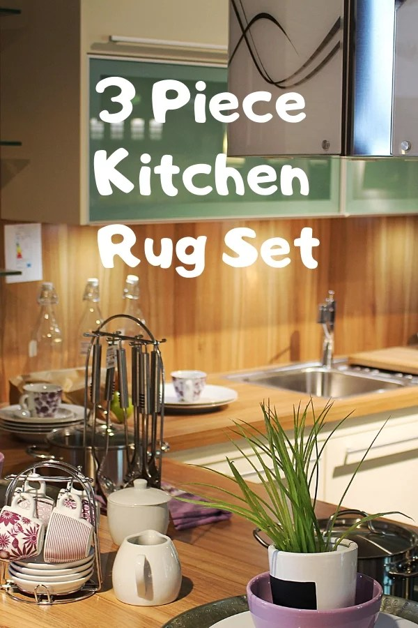 3 Piece Kitchen Rug Set  Cheery Room