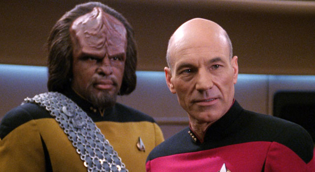 jean luc picard and worf