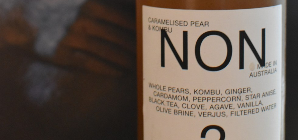 Non 2 Caremelised Pear and Kombu drink