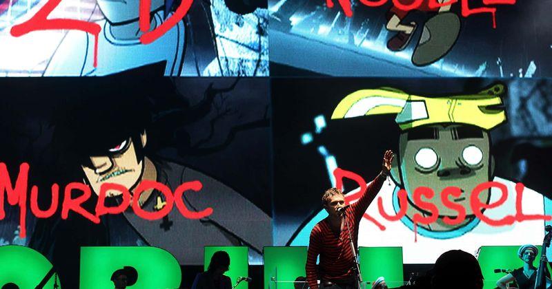 Gorillaz, d:bh, helluva boss, dan vs., hannibal. Gorillaz Drop Addictive Song Machine Track Pac Man Featuring Schoolboy Q Fans Say They Re All On Drugs Meaww