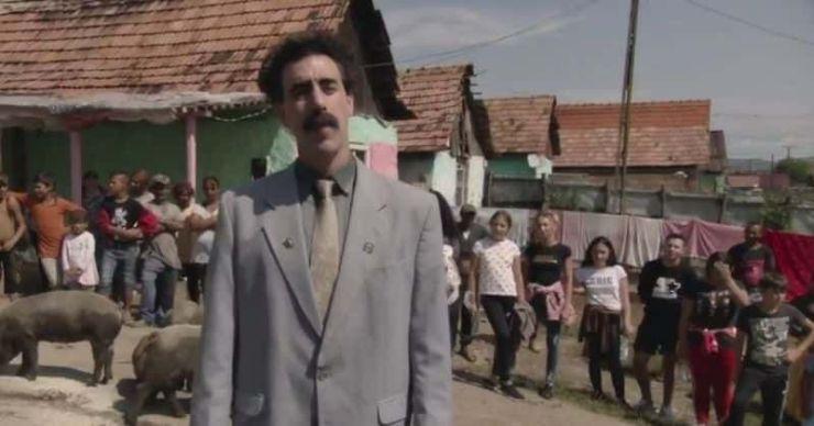 Revisión de 'Borat Subsequent Moviefilm': ¡Enfermo!  ¡Impactante!  ¡Vulgar!  El éxito de Sacha Baron Cohen en Estados Unidos hará felices a los fanáticos