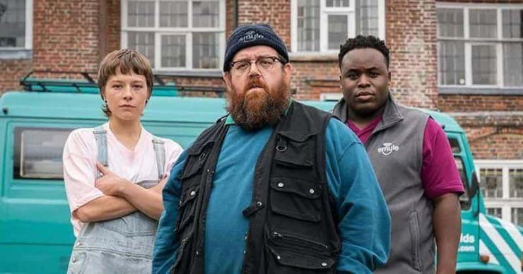 El final de 'Truth Seekers' explicado: Dave le ocultó la verdad a Gus haciendo planes malvados, ¿te refieres a la temporada 2?