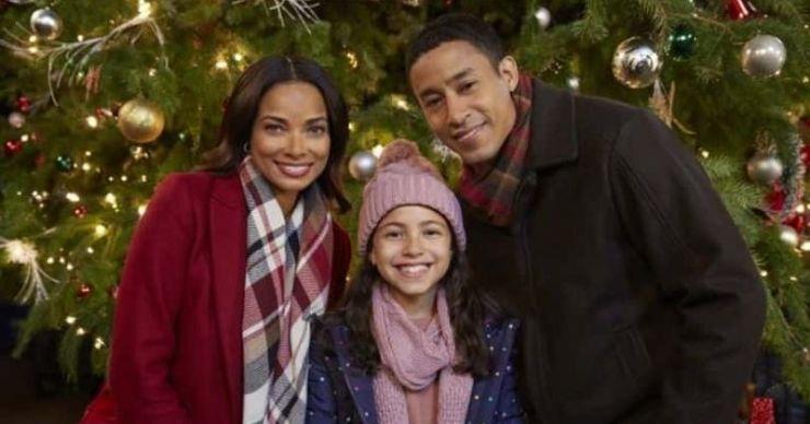 'A Christmas Tree Grows in Colorado': Conoce a Rochelle Aytes, Mark Taylor y el resto del elenco de la película navideña de Hallmark