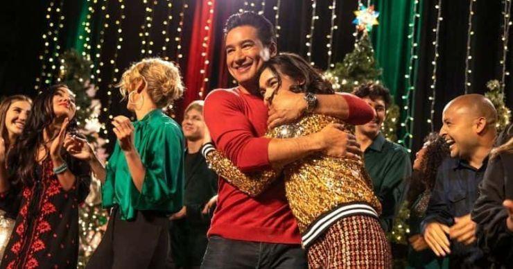 'Feliz NaviDAD': conoce a Mario Lopez, AnnaLynne McCord y el resto del elenco de la película Lifetime Christmas