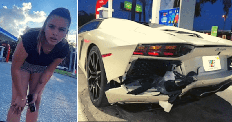 Accidente de Lamborghini: mujer burlada por auto amortiguado en viral TikTok, pero nuevo video revela la VERDAD