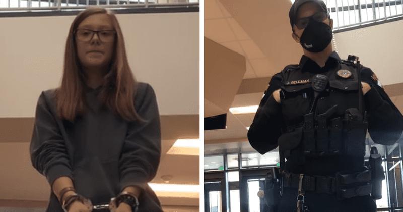 Grace Smith: estudiante de Wyoming, de 16 años, arrestada por negarse a usar una mascarilla en la escuela