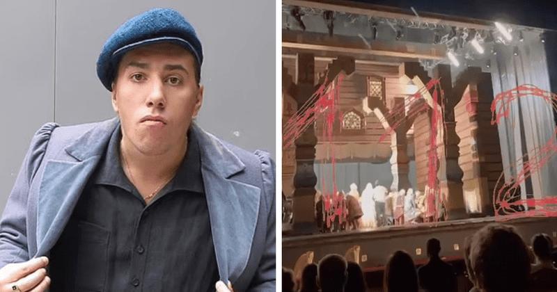 Yevgeny Kulesh: impactante video muestra al actor aplastado hasta la muerte en el teatro Bolshoi de Moscú