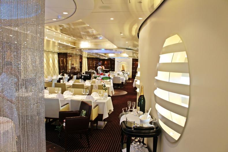 Rossini Restaurant auf AIDAperla