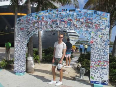 Ich zähle nicht mehr mit, aber Nassau auf den Bahamas zählt zu meinen häufigsten Anlaufhäfen