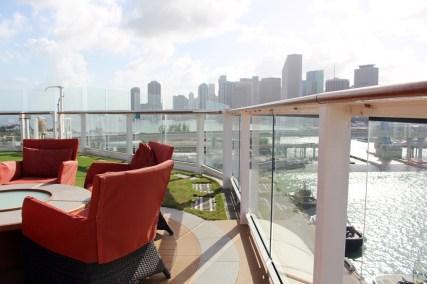 Sunset Bar der Celebrity Equinox in Miami