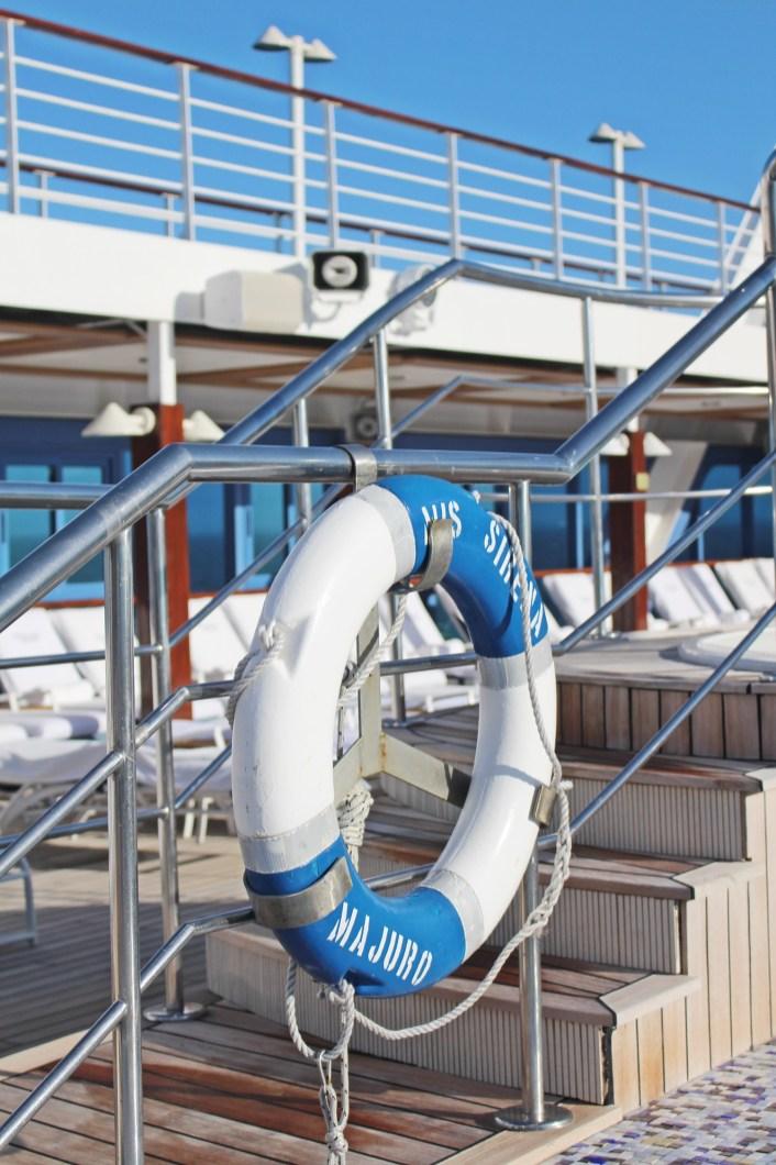 Sonnendeck der MS Sirena von Oceania Cruises (14)