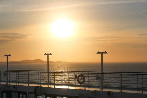 Sonnenuntergang an Bord der MS Sirena von Oceania Cruises (17)