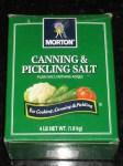 US Made Morton Brand Non-Iodized Canning & Pickling Salt - CheeseForum.org