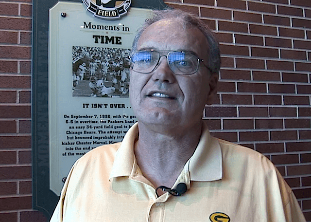 Packers HallOfFame Kicker CHESTER MARCOL Interview Clip