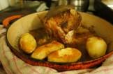 "Roasted pork ""Heck"" and potatoes"