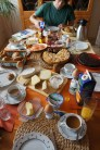 A almost typical German Sunday breakfast table