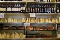 Antica Caciara Trastevere -oldes cheese shop in Rome