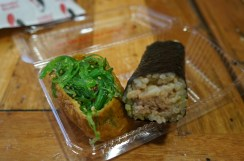 Seaweed and brown rice sushi...soooooo cheap and delicious