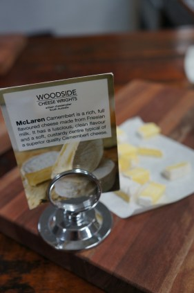 Beautiful Camembert from Woodside Cheese Wright