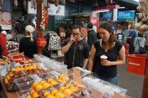 food in Fremantle market