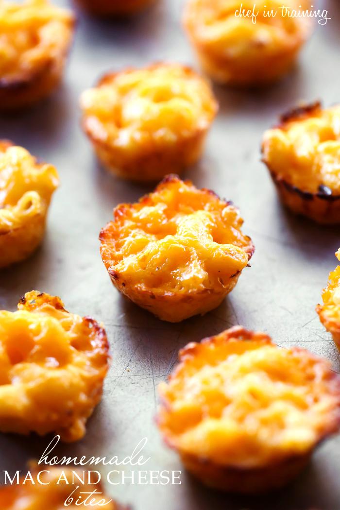 How To Make Mac And Cheese Bites : cheese, bites, Homemade, Cheese, Bites, Training
