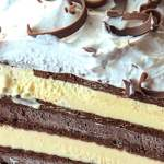 I've made this Ice Cream Sandwich Cake hundreds of times. It is fun to make, fun to slice, and fun to eat. I've used all kinds of ice cream sandwiches, too - mint, chocolate chip, and neopolitan. There's no bad combination when it comes to Ice Cream! #summerrecipes #icecreamcake