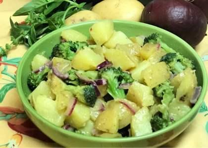 Creamy Potato Salad with Broccoli is a perfect picnic side dish.