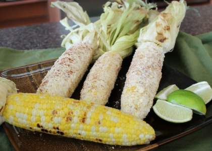 The best summer side dish - Mexican Street Corn.