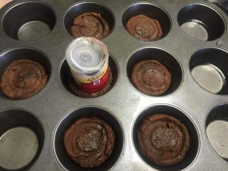 Chocolate Mint Ice Cream Sundae Cookie Cups