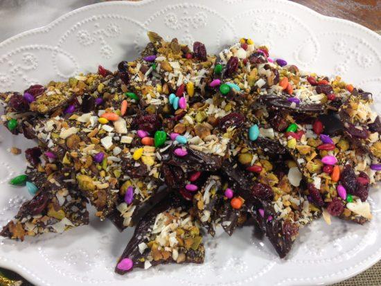 Dark Chocolate Holiday Bark | Chef Alli's Farm Fresh Kitchen