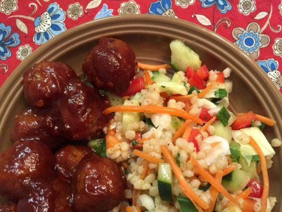 Pearled Sorghum Power Salad