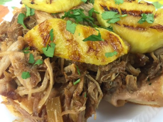 Pineapple Pulled Pork Sliders