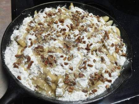 Apple Crumble before it was Baked | Chef Alli's Farm Fresh Kitchen