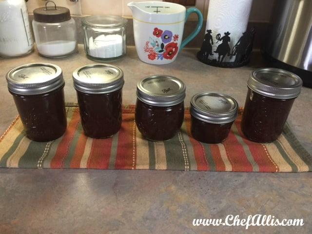 Instant Pot Cherry Apple Butter