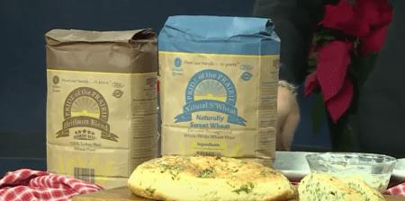 Basil Skillet Bread | Chef Alli's Farm Fresh Kitchen