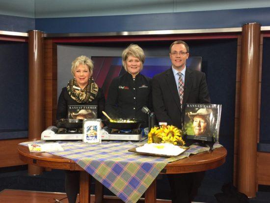 Harvesters and Kansas Farm Bureau having a Food Conversation | Chef Alli's Farm Fresh Kitchen